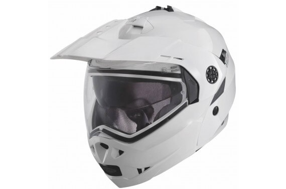 CABERG CASQUE MODULABLE TOURMAX UNI BLANC METALISE