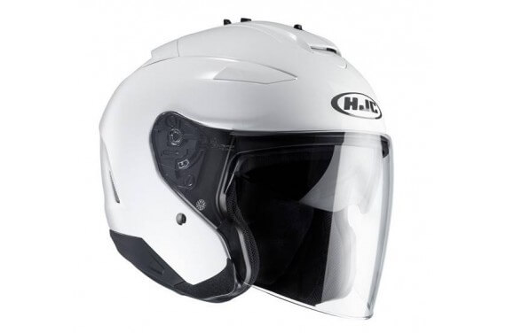 Casque HJC IS33 II Blanc Pearl White