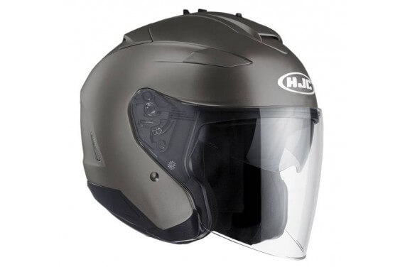 HJC Casque Jet IS33 II Gris Mat