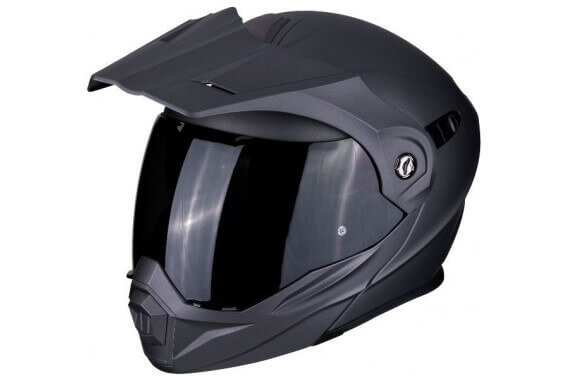 SCORPION CASQUE MODULABLE EXO ADX-1 SOLID ANTHRACITE MAT