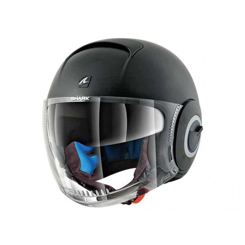 SHARK Casque NANO BLANK MAT BLACK MAT