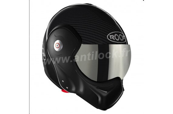 ROOF Casque modulable BOXXER CARBON NOIR BLACK + ECRAN IRIDIUM