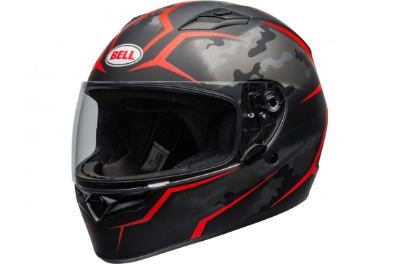 BELL INTEGRAL QUALIFIER STEALTH CAMO ROUGE