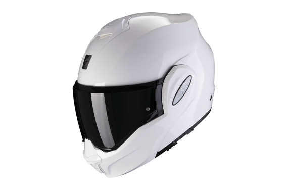 SCORPION CASQUE EXO-TECH BLANC