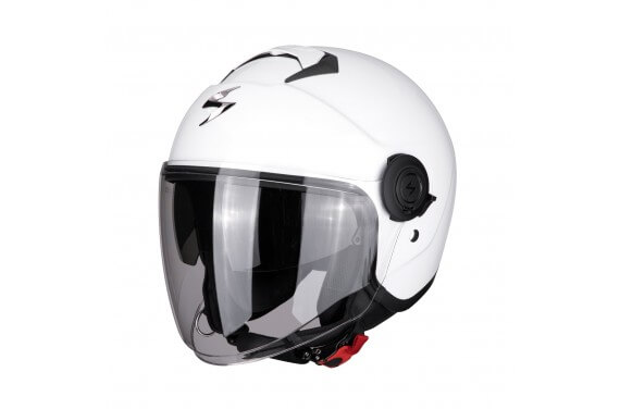 SCORPION CASQUE EXO CITY BLANC