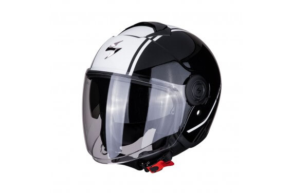SCORPION CASQUE EXO CITY AVENUE NOIR BLANC