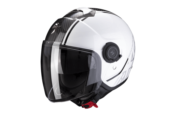 SCORPION CASQUE EXO CITY AVENUE BLANC NOIR