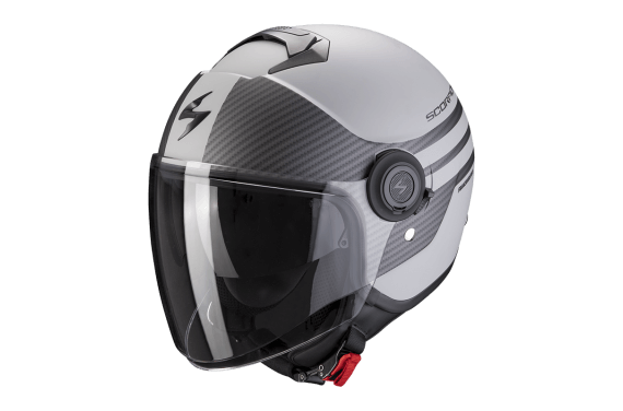 SCORPION CASQUE EXO CITY MODA GRIS MAT NOIR