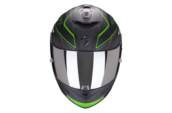 SCORPION CASQUE EXO 1400 AIR GALAXY VERT MAT