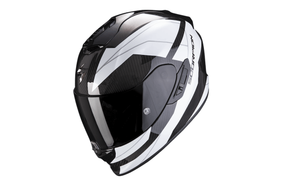 SCORPION CASQUE EXO 1400 CARBON AIR LEGIONE BLANC