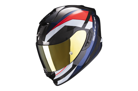 SCORPION CASQUE EXO 1400 CARBON AIR LEGIONE ROUGE BLEU
