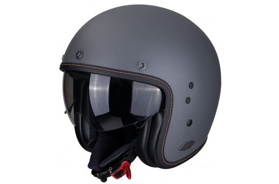 SCORPION CASQUE BELFAST CIMENT GRIS MAT