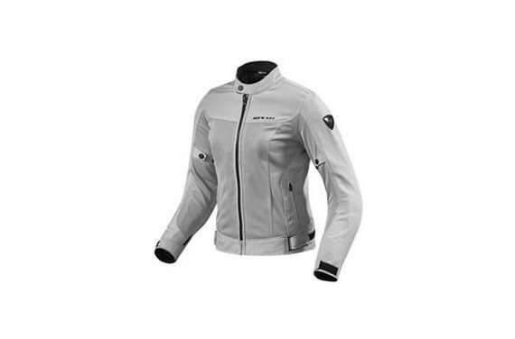 REV'IT BLOUSON TEXTILE ECLIPSE LADIES ARGENT