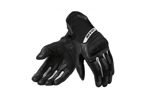 REV'IT GANTS STRIKER 3 LADY NOIR BLANC