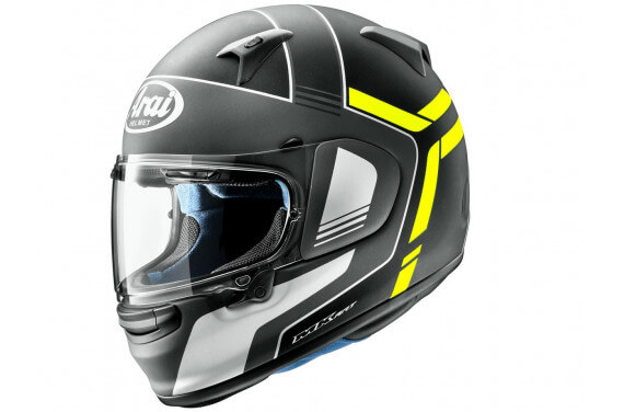 ARAI INTEGRAL PROFILE-V TUBE FLUO YELLOW