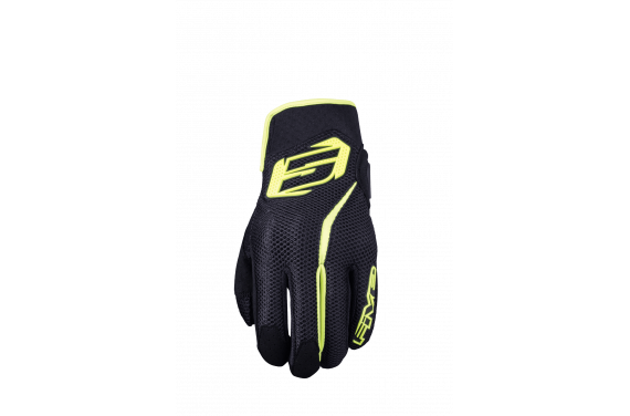 FIVE GANTS RS5 AIR NOIR JAUNE
