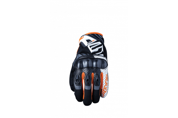 FIVE GANTS RS-C BLANC ORANGE