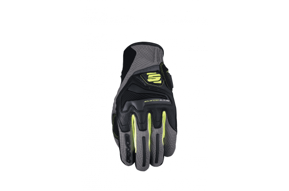 FIVE GANTS RS 4 GRIS JAUNE