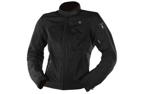 TARAH JKT LADY BLACK ANTHRACITE HOMOLOGATED