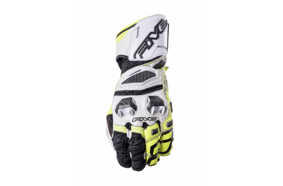 FIVE GANTS RFX1 BLANC JAUNE 2021