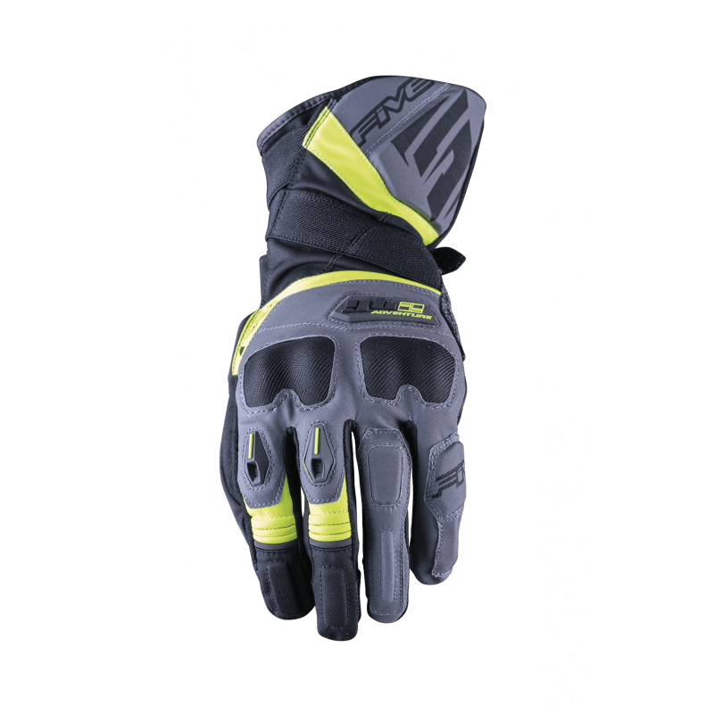FIVE GANTS GT 2 WR GRIS JAUNE