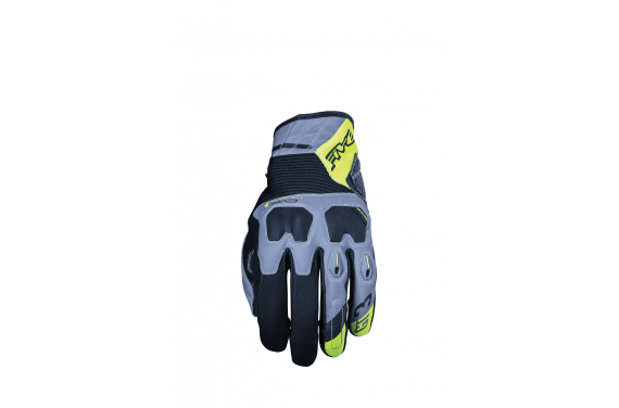 FIVE GANTS GT 3 WR GRIS JAUNE