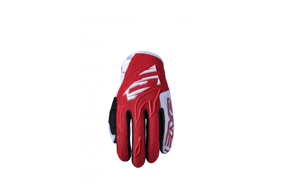 FIVE GANTS MXF3 ROUGE BLANC