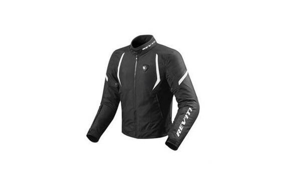 REV'IT BLOUSON TEXTILE JUPITER 2 NOIR/BLANC
