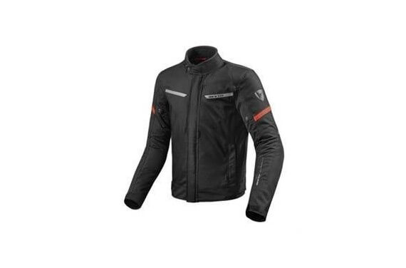 REV'IT BLOUSON TEXTILE LUCID NOIR/ROUGE