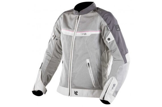 VE-21 CREAM/GREY/PINK JACKET LADY
