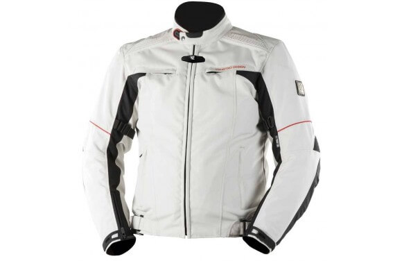 LORENZO JKT MEN GREY BLACK RED HOMOLOGATED