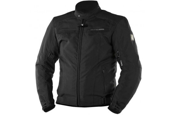 LORENZO JKT MEN JET BLACK HOMOLOGATED