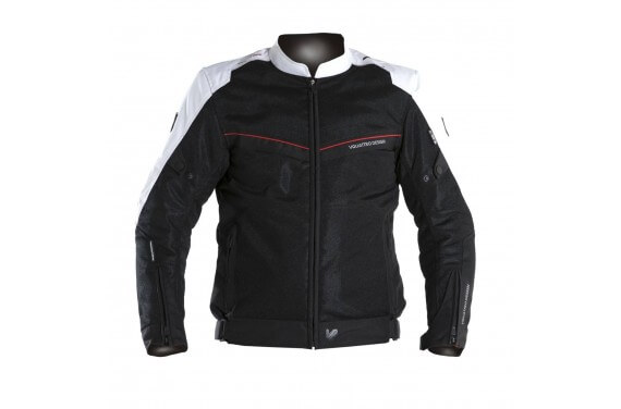 VE-21 BLACK/WHITE/RED JACKET MAN