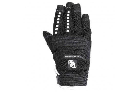 VQUATTRO MX 18 GLOVES KID- PHONE TOUCH BLACK