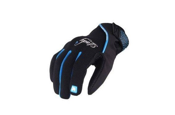 VQUATTRO DISTRICT GLOVES WOMAN BLACK/BLUE