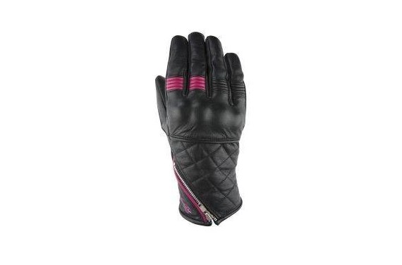 VQUATTRO MURANO GLOVES WOMAN BLACK/PINK