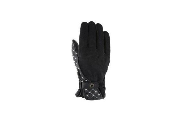 VQUATTRO ROMA GLOVES WOMAN BLACK