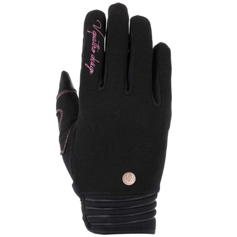 VQUATTRO DISTRICT 18 GLOVES LADY- PHONE TOUCH BLACK