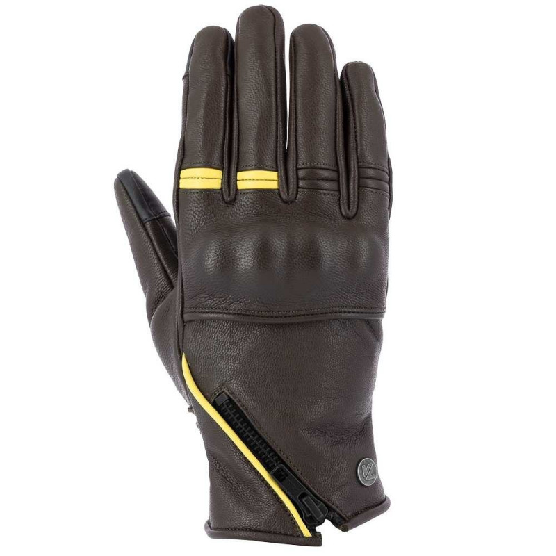 VQUATTRO MURANO 18 GLOVES LADY- PHONE TOUCH BROWN