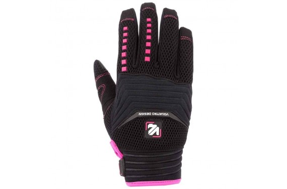 VQUATTRO MX 18 GLOVES LADY- PHONE TOUCH BLACK/PINK