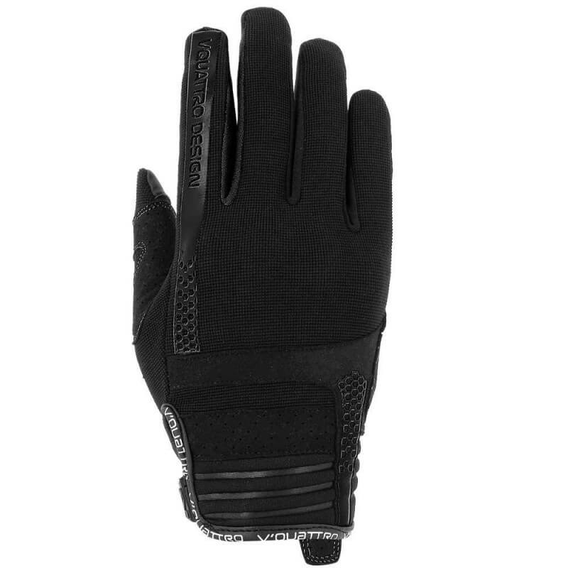 VQUATTRO RUSH 18 GLOVES LADY- PHONE TOUCH BLACK