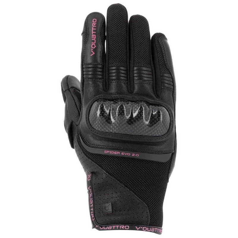 VQUATTRO SPIDER EVO 18 GLOVES LADY- PHONE TOUCH BLACK