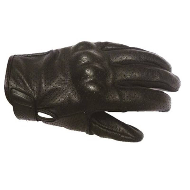 Mitsou Gants Square V Cuir leather