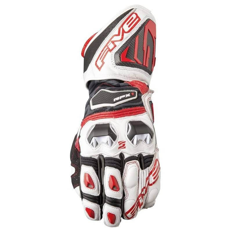 FIVE RFX1 GLOVE WHITE/RED