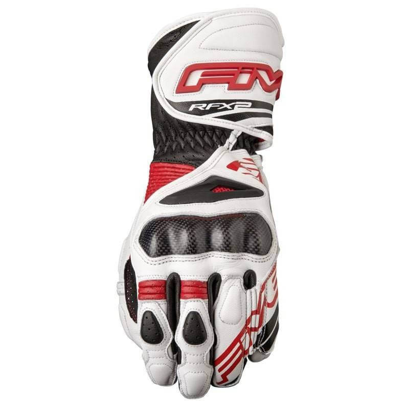 FIVE RFX2 GLOVE WHITE/RED