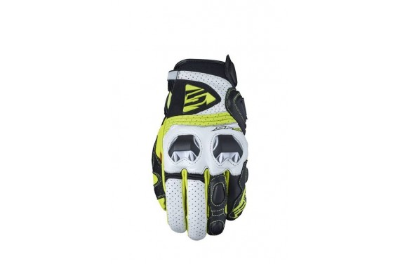 FIVE SF2 GLOVE WHITE/FLUO YELLOW