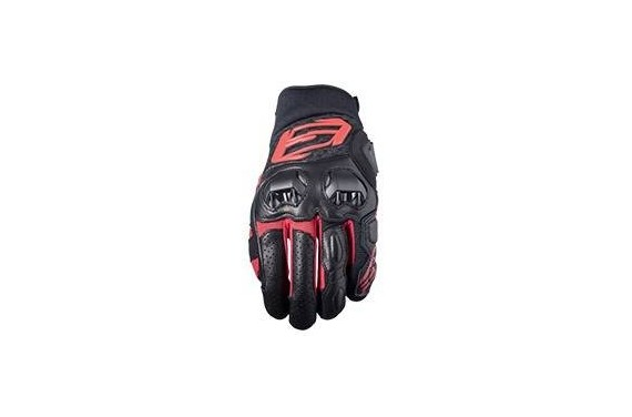 FIVE SF3 GLOVE BLACK/RED