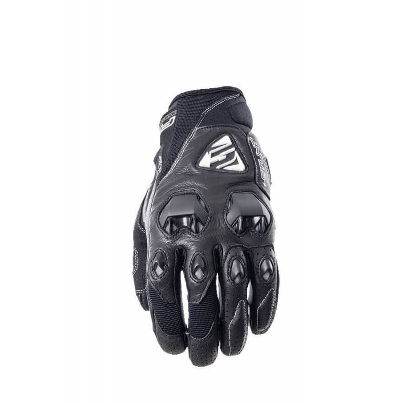 FIVE STUNT EVO LEATHER GLOVE BLACK