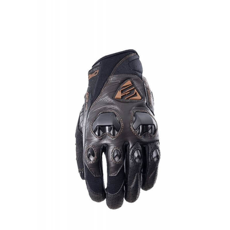 FIVE STUNT EVO LEATHER GLOVE BROWN