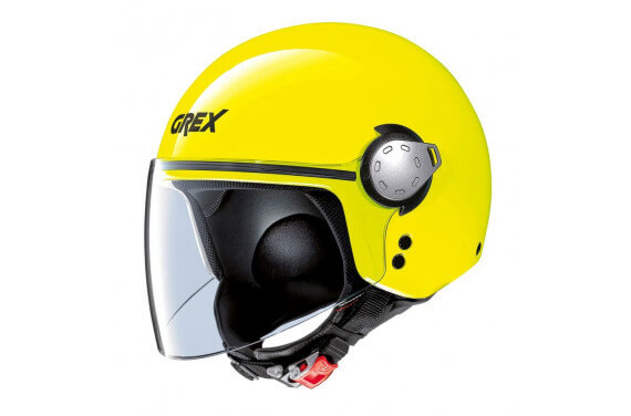 GREX CASQUE JET G3.1E KINETIC JAUNE